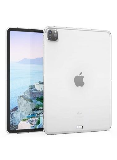 Microsonic Microsonic A2229A2069A2232 Apple iPad Pro 12.9'' 2020 4.Nesil Transparent Soft Kılıf Renksiz